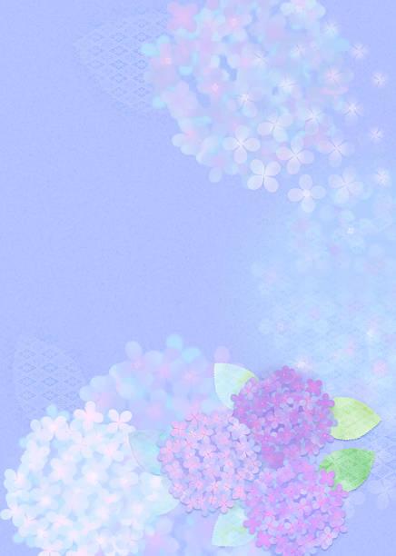 Oriental background with hydrangea:スマホ壁紙(壁紙.com)