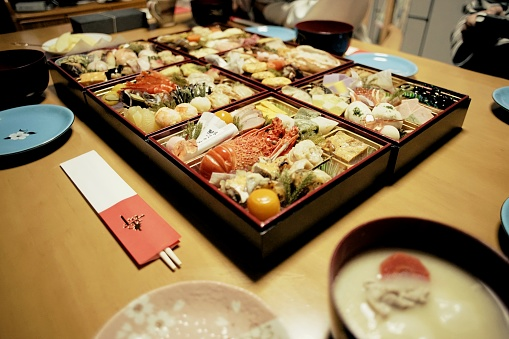 Real Life「Osechi - traditional Japanese New Year's dish」:スマホ壁紙(3)