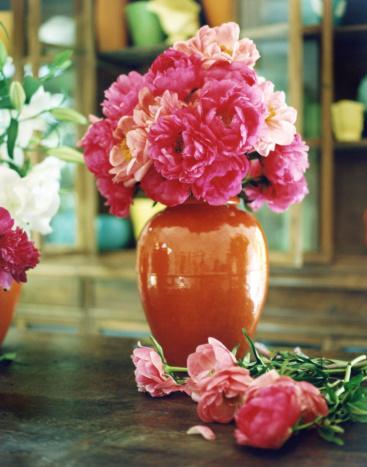 Flower Shop「Peonies in a vase」:スマホ壁紙(19)