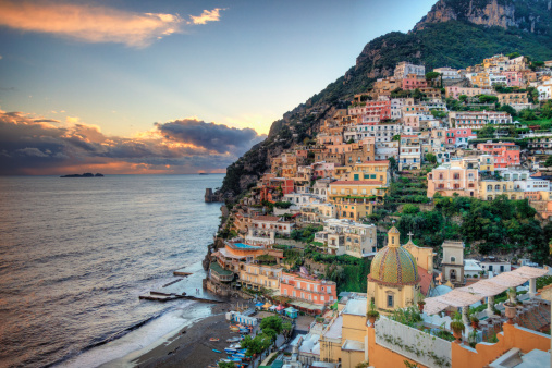 Amalfi Coast「Italy, Amalfi Coast, Positano」:スマホ壁紙(13)