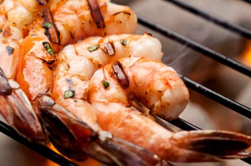 Barbecue Grill「Grilled Shrimp」:スマホ壁紙(18)