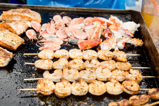 Griddle「Grilled Shrimp Skewers」:スマホ壁紙(12)