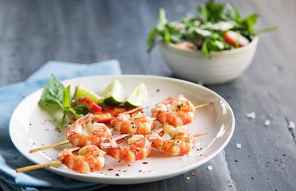 Grilled shrimps:スマホ壁紙(壁紙.com)
