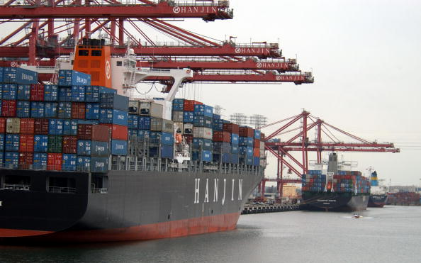 Container Ship「LA Port Air Pollution Improves But Needs More」:写真・画像(19)[壁紙.com]