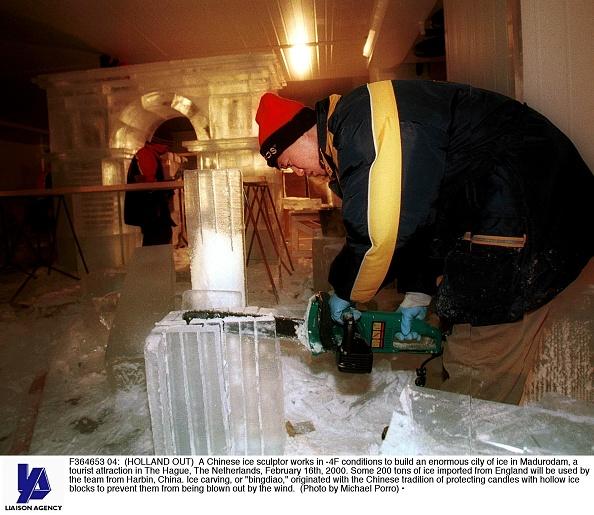 Ice Sculpture「Chinese Ice Sculpture」:写真・画像(5)[壁紙.com]