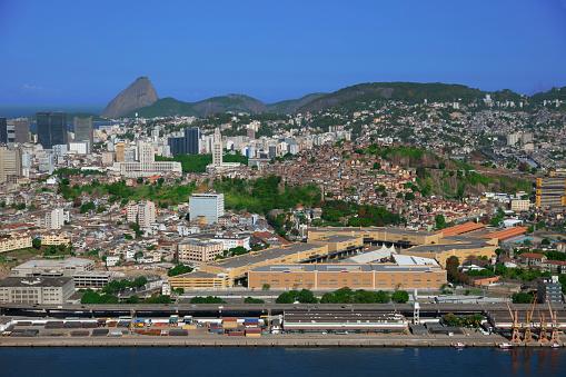 Brazilian Carnival「Port zone in Rio de Janeiro」:スマホ壁紙(5)