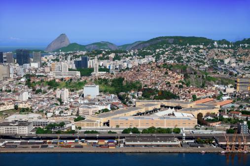 Brazilian Carnival「Port zone in Rio de Janeiro」:スマホ壁紙(6)