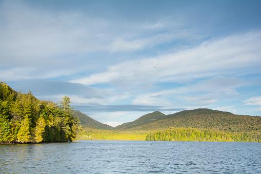 Adirondack Mountains「Autumn afternoon on Lake Placid」:スマホ壁紙(0)