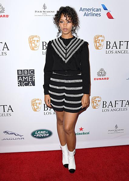 Striped Shorts「The BAFTA Los Angeles Tea Party - Arrivals」:写真・画像(16)[壁紙.com]