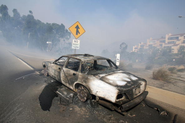 California State Route 1「Santa Ana Winds Stoke Wildfires In Southern California」:写真・画像(12)[壁紙.com]