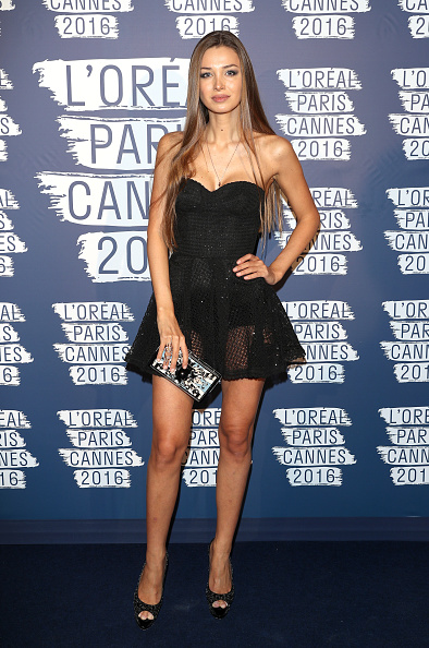 Bustier Dress「L'Oreal Paris Blue Obsession Party - The 69th Annual Cannes Film Festival」:写真・画像(13)[壁紙.com]