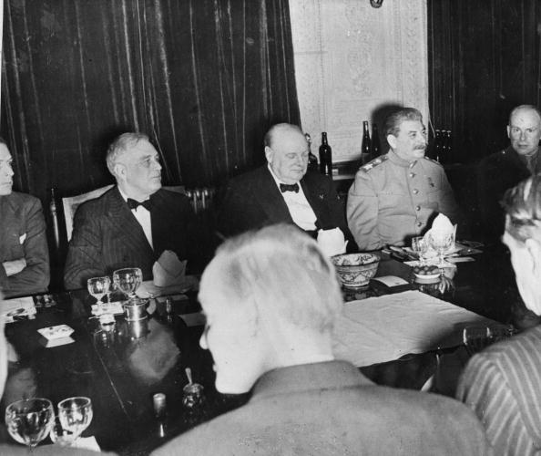 Franklin Roosevelt「Big Three At Party」:写真・画像(15)[壁紙.com]
