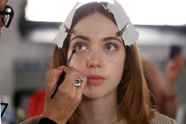 Make-Up「Timo Weiland Women's - Backstage- MADE Fashion Week Spring 2015」:写真・画像(16)[壁紙.com]