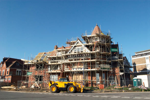 Large house under construction, Felixstowe, Suffolk, UK:ニュース(壁紙.com)
