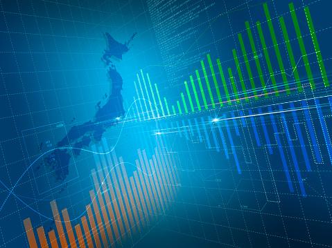 ������「Map of Japan and Three Dimensional Chart」:スマホ壁紙(17)