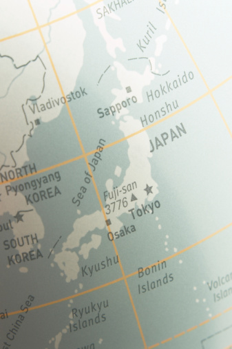 Latitude「Map of japan」:スマホ壁紙(7)