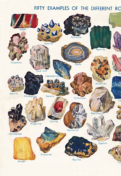 Rock - Object「Examples Of The Different Rocks That Make Up The Earths Crust 1」:写真・画像(14)[壁紙.com]