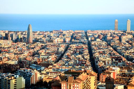 Boulevard「Barcelona landscape」:スマホ壁紙(9)