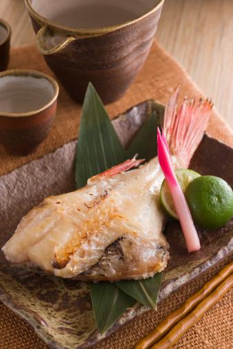 Sake「Grilled Red Fish Marinated with Sake Kasu」:スマホ壁紙(8)