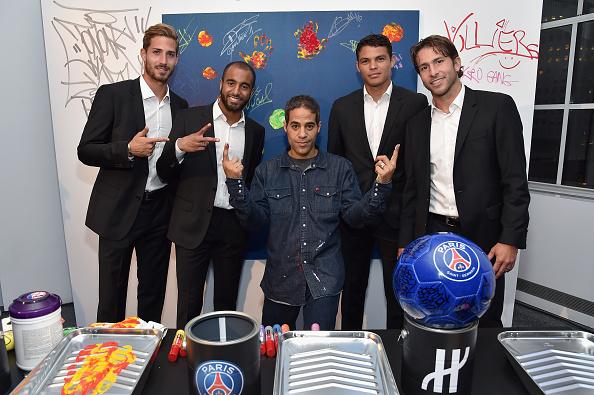 ケヴィン トラップ「Hublot Launches Latest Timepiece With Paris Saint-Germain Team And Celebrates Partnership In New York City」:写真・画像(17)[壁紙.com]