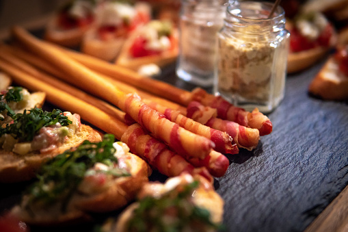 Canape「Canape appetizers and breadsticks」:スマホ壁紙(10)