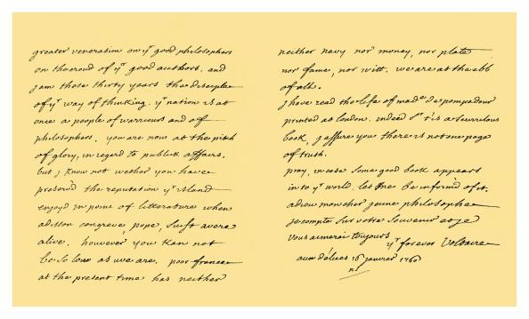 Writing「Autograph: François Marie Arouet De Voltaire 1760」:写真・画像(13)[壁紙.com]