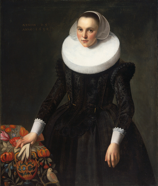 Oil Painting「Portrait Of A Young Lady」:写真・画像(7)[壁紙.com]