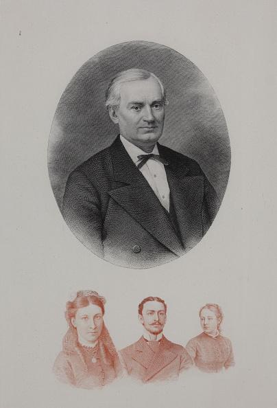 Etching「Portrait Of Ivan Ivanovich Glazunov (1826-1890) 1881」:写真・画像(3)[壁紙.com]