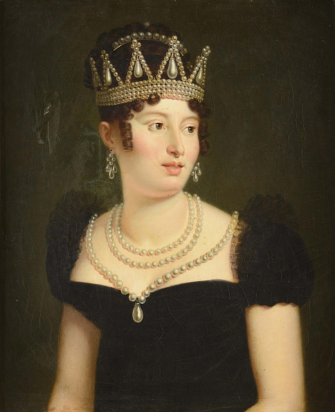 Oil Painting「Portrait Of Caroline Bonaparte (1782-1839).」:写真・画像(6)[壁紙.com]