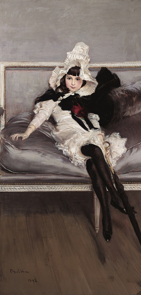 Stockings「Portrait Of Giovinetta Errazuriz 1892」:写真・画像(16)[壁紙.com]