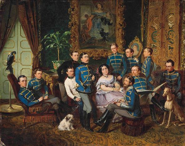 Painting - Activity「Portrait Of Countess Julia Samoilova (1803-1875) With Austrian Hussars」:写真・画像(8)[壁紙.com]