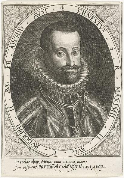 North Holland「Portrait of Archduke Ernest of Austria (1553-1595), ca 1595-1597」:写真・画像(3)[壁紙.com]