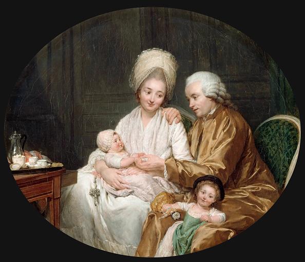 アート「Portrait Of Marc-Etienne Quatremere And His Family」:写真・画像(19)[壁紙.com]