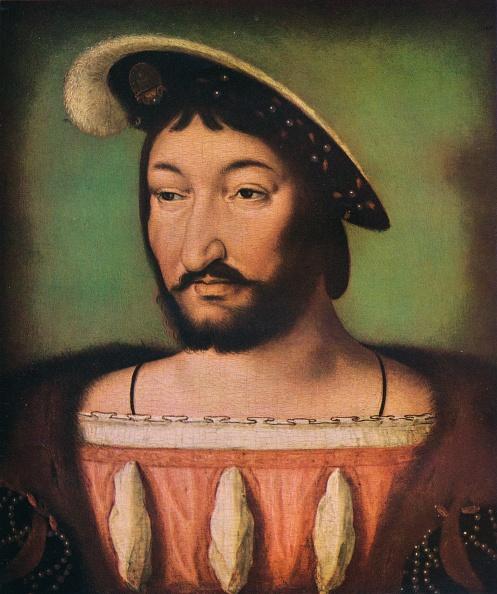 Color Image「'Portrait of Francois I of France', c16th century. Artist: Jean Clouet.」:写真・画像(7)[壁紙.com]