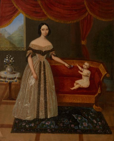 Painting - Activity「Portrait Of Elizaveta Andreevna Yurievich (1809-1858) With Son Nikolai 1838」:写真・画像(7)[壁紙.com]