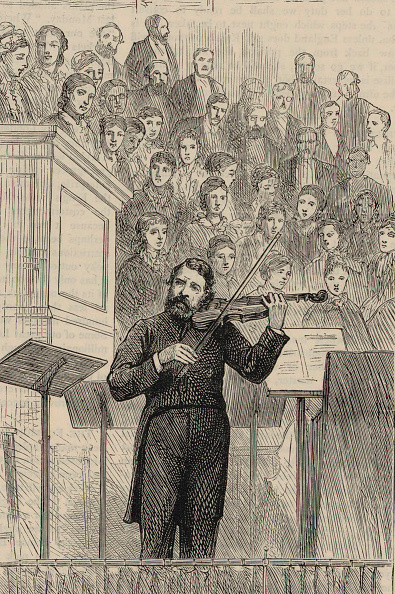 1877「Portrait Of The Violinist And Composer Joseph Joachim (1831-1907)」:写真・画像(7)[壁紙.com]