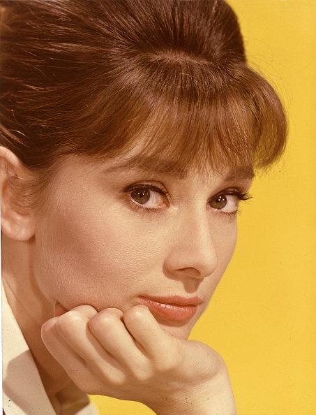 カラー画像「Portrait Of Audrey Hepburn」:写真・画像(13)[壁紙.com]