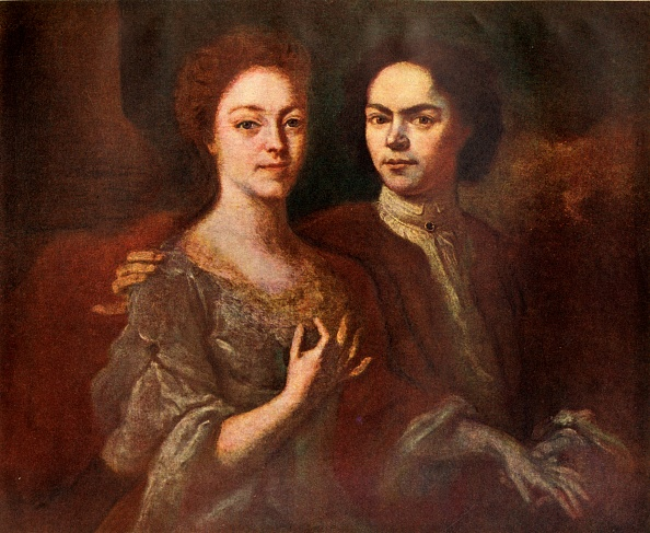 Fine Art Painting「Portrait Of The Artist And His Wife」:写真・画像(19)[壁紙.com]