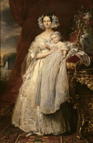 Painting - Activity「Portrait Of Helene Of Mecklenburg-Schwerin (1814-1858)」:写真・画像(1)[壁紙.com]