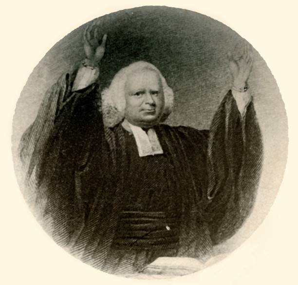 Portrait Of Rev George Whitefield In Gown And Wig Worn In New England:ニュース(壁紙.com)