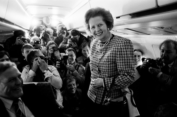 Purse「Prime Minister Thatcher On Plane」:写真・画像(3)[壁紙.com]