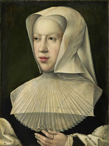 Capital Region「Portrait Of Margaret Of Austria (1480-1530) Creator: Orley」:写真・画像(4)[壁紙.com]