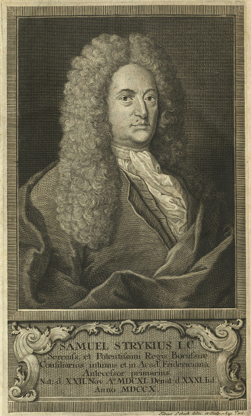 Baroque Style「Portrait Of Samuel Stryk (1640-1710).」:写真・画像(11)[壁紙.com]