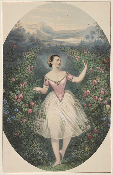 Ballet Dancer「Portrait Of The Ballerina Marie Taglioni (1804-1884) In Ballet Théa Ou La Fée Aux Fleurs By Cesare P」:写真・画像(12)[壁紙.com]