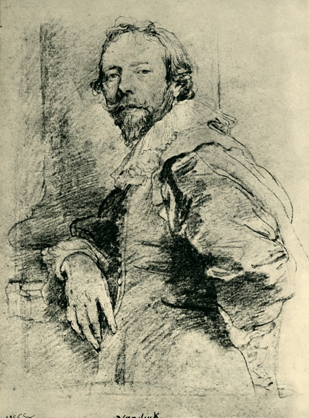 Sir Anthony Van Dyck「Portrait Of Adam De Coster」:写真・画像(19)[壁紙.com]