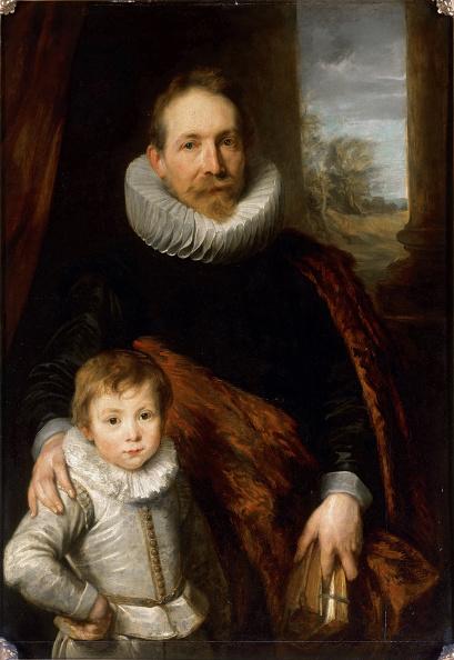 Painting - Activity「Portrait Of Jean Richardot 1540-1609 And His Son」:写真・画像(5)[壁紙.com]