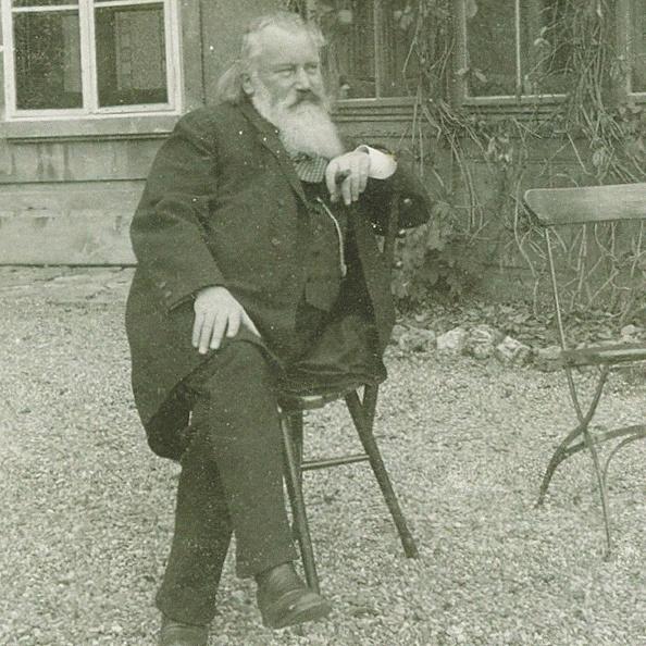 Painted Image「Portrait of the composer Johannes Brahms (1833-1897), 1894」:写真・画像(19)[壁紙.com]