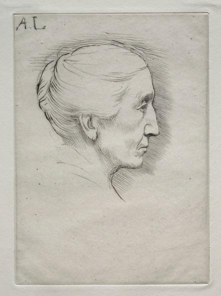 Emily Hughes「Portrait Of Mme. Emily Hughes (1St Plate). Creator: Alphonse Legros (French」:写真・画像(10)[壁紙.com]