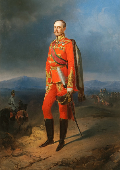 Arts Culture and Entertainment「Portrait Of Emperor Nicholas I 1796-1855 In Austrian Uniform」:写真・画像(0)[壁紙.com]