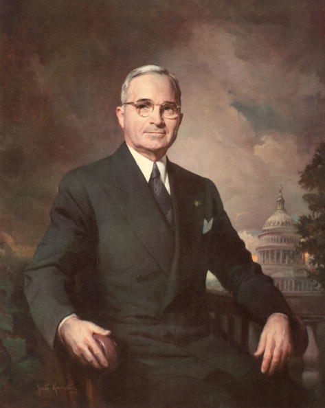 Harry Truman「Portrait Of President Truman」:写真・画像(10)[壁紙.com]